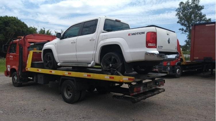 Sistema de cercamento eletrônico flagra veículo furtado transitando em Bento