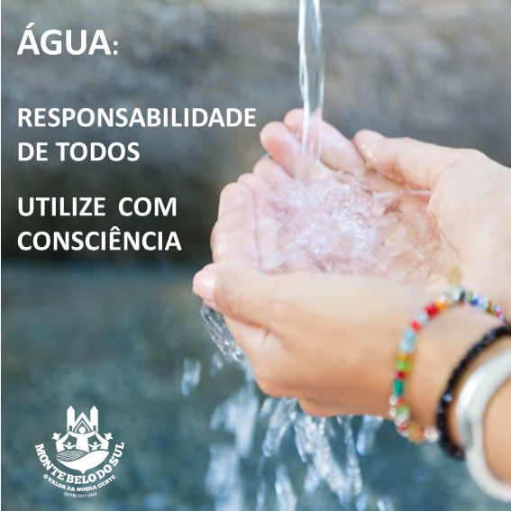 Prefeitura de Monte Belo do Sul conscientiza comunidade quanto ao consumo consciente de água