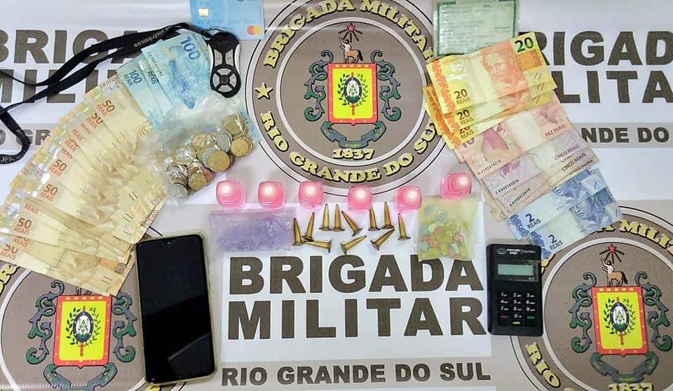 Homem é preso por tráfico de drogas na ERS-030 em Osório