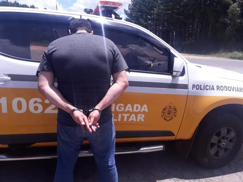 Homem é preso por porte ilegal de arma de fogo na Rota do Sol em São Francisco de Paula
