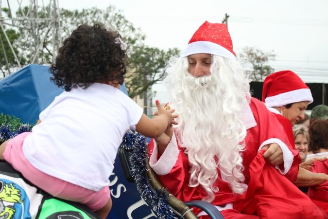 Chegada do Papai Noel no bairro Fátima é neste sábado em Bento
