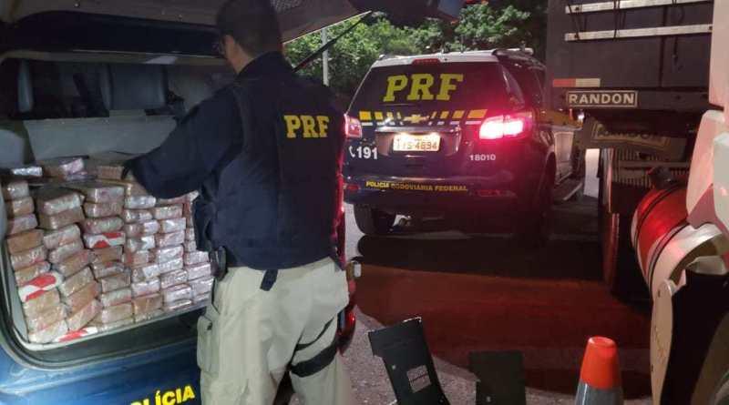 PRF prende trio por tráfico internacional de drogas e apreende 300 quilos de crack e cocaína
