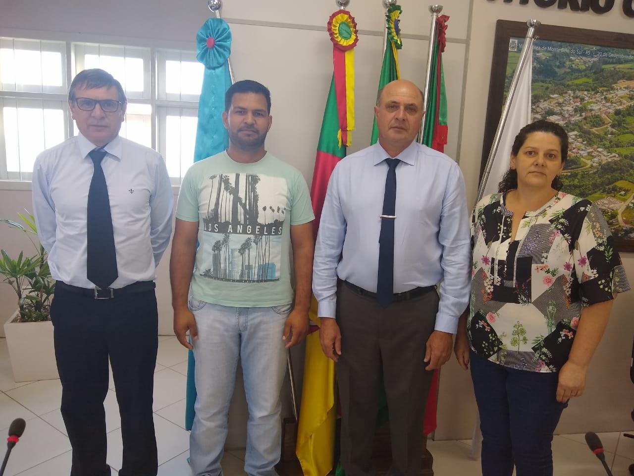 Eleita nova Mesa Diretora para Câmara de Monte Belo em 2020