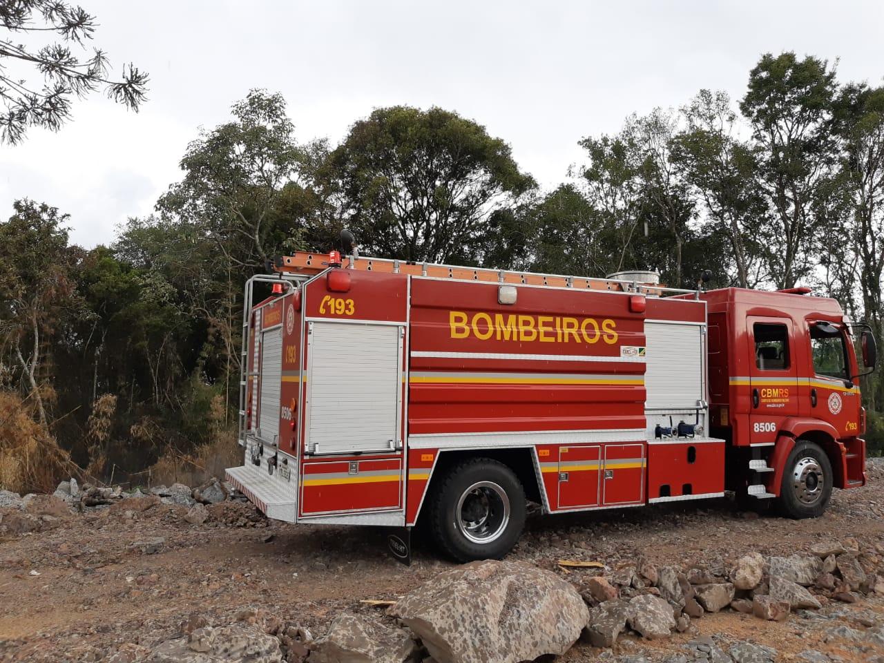 Bombeiros de Bento contabilizam ocorrências de fogo em vegetação