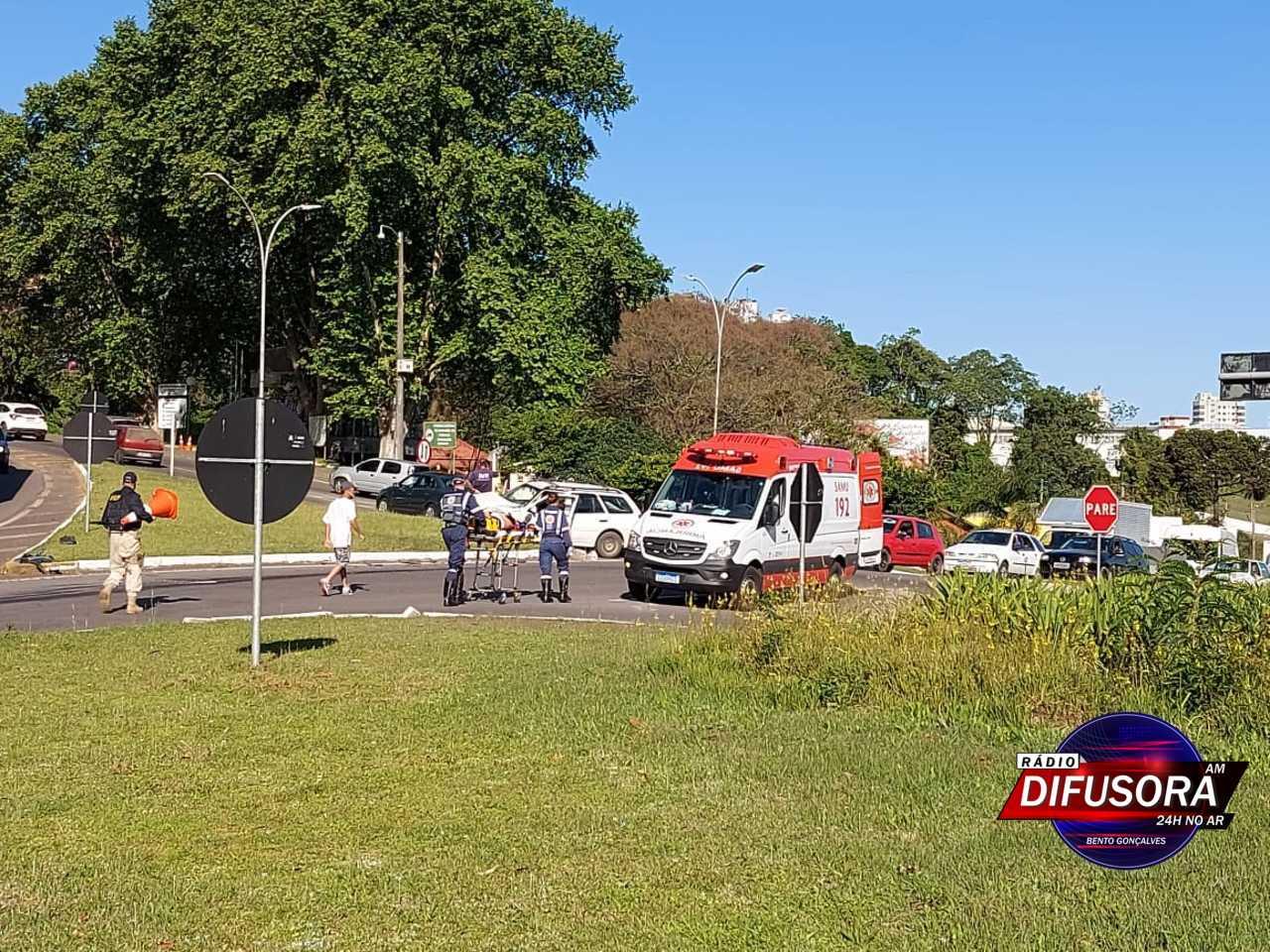 Duas mulheres ficam feridas em acidente na Pipa Pórtico, no acesso de Bento