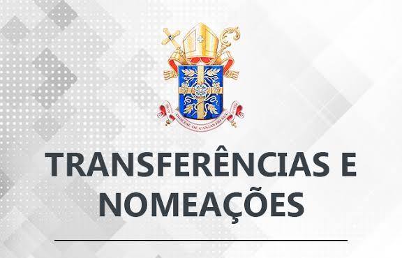 Divulgadas transferências e nomeações junto a Diocese de Caxias do Sul