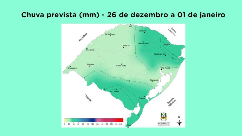 Previsão de temperaturas elevadas e pancadas de chuva nos próximos dias
