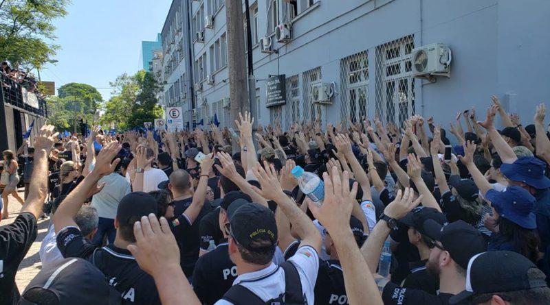 Polícia Civil realiza paralisação nesta segunda-feira no Rio Grande do Sul