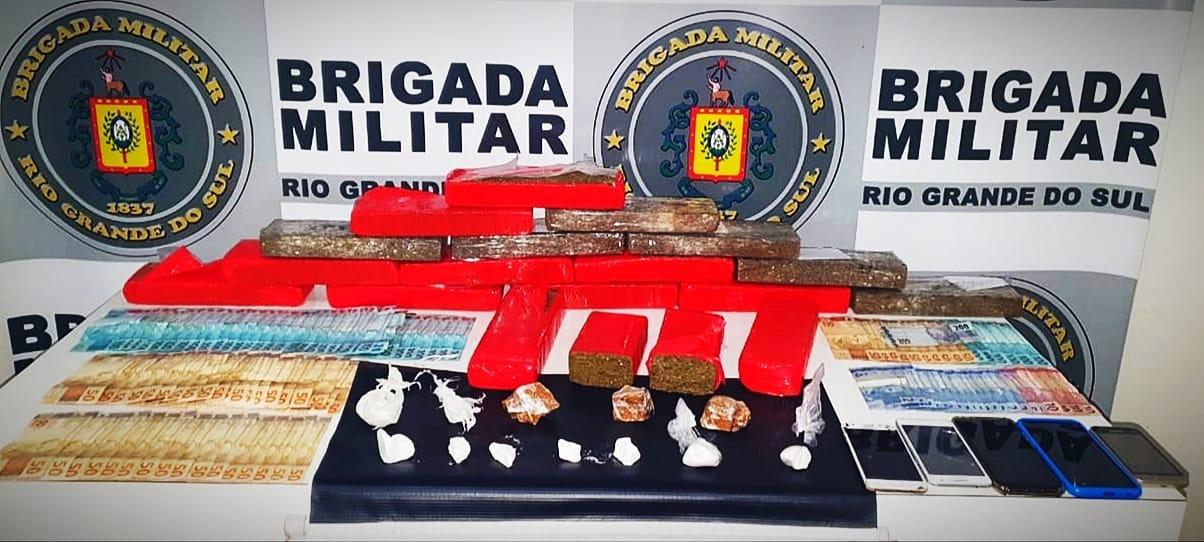 Quadrilha é presa por tráfico de drogas em Guaporé