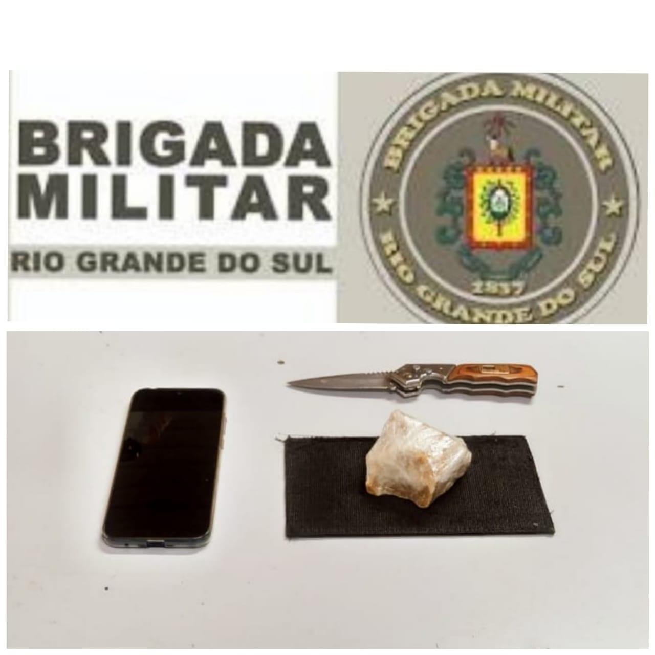 Brigada Militar prende mulher por tráfico de drogas em Veranópolis