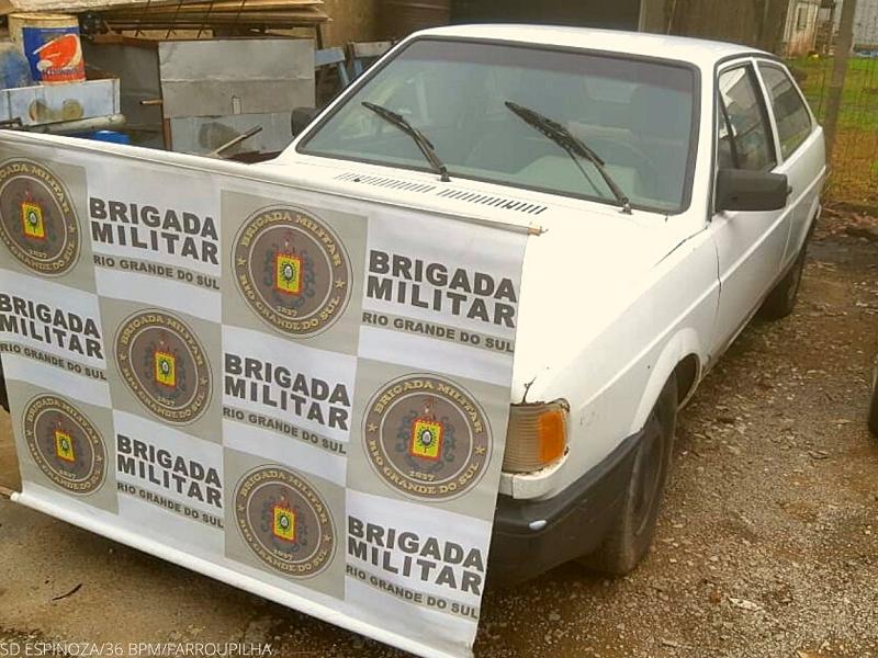 Brigada Militar de Farroupilha prende dois homens por receptação