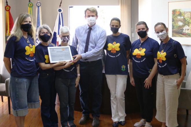 Prefeitura de Garibaldi presta homenagem aos 50 anos da APAE