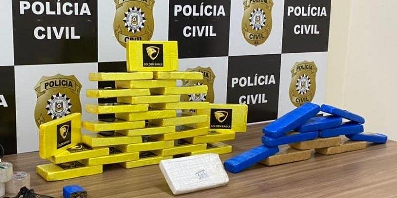 Polícia Civil descobre depósito com mais de R$ 1 milhão em cocaína pura em Santa Cruz do Sul