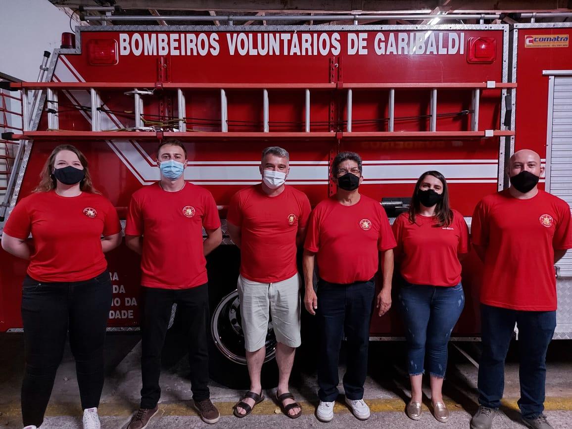 Toma posse nova diretoria dos Bombeiros Voluntários de Garibaldi