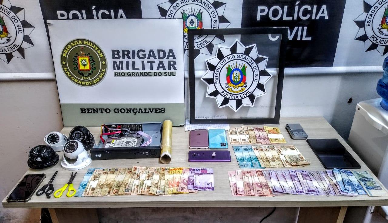 Operação da PC e BM prende homem por tráfico de drogas em Bento