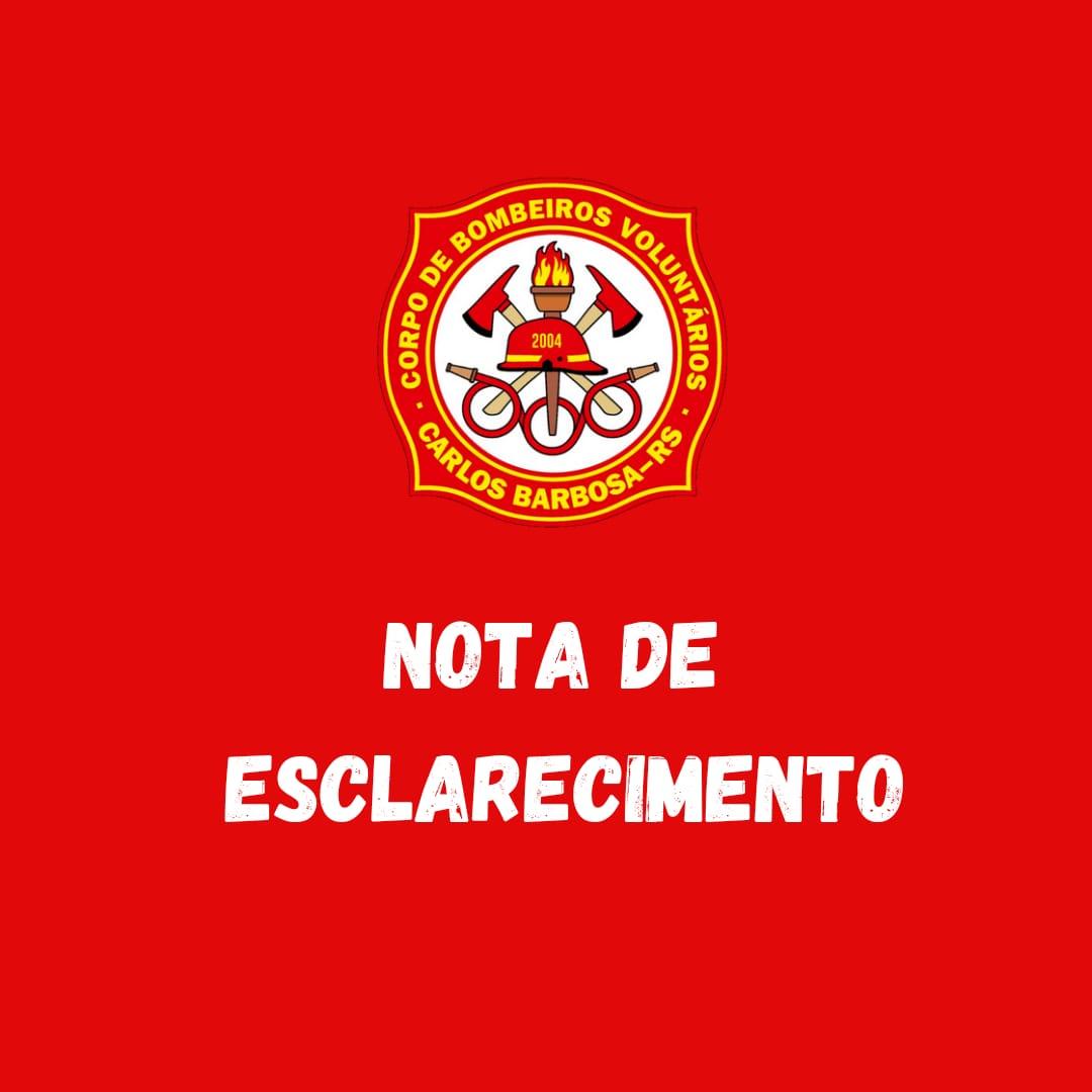 Estelionatários utilizam nome do Corpo de Bombeiros de Carlos Barbosa na tentativa de aplicar golpes  no comércio