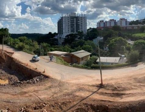 Trânsito será alterado novamente nas obras do túnel de Acesso Norte em Bento