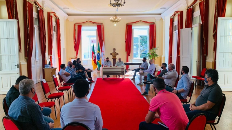 Bento: interior do município é pauta da primeira reunião de secretários