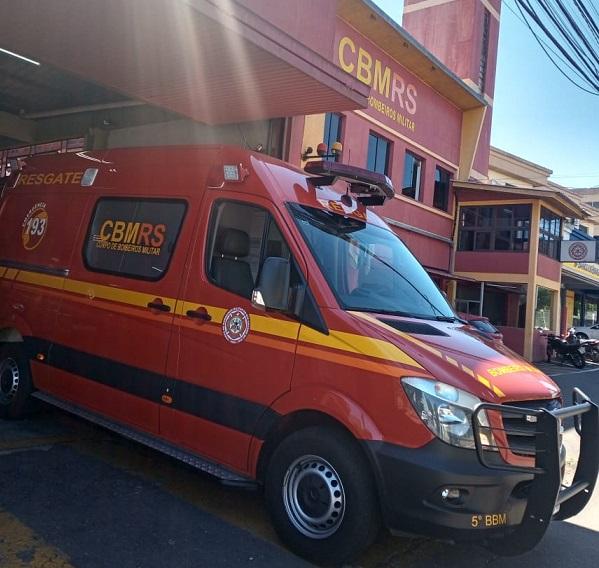 Corpo de Bombeiros atende gestante após trabalho de parto no Universitário em Bento