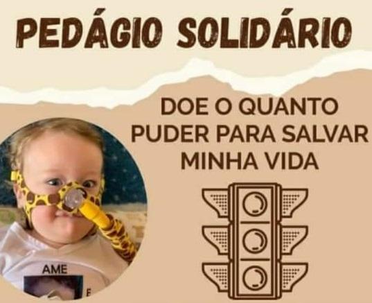 Bento: voluntários realizam pedágio solidário em prol do pequeno João Emanuel