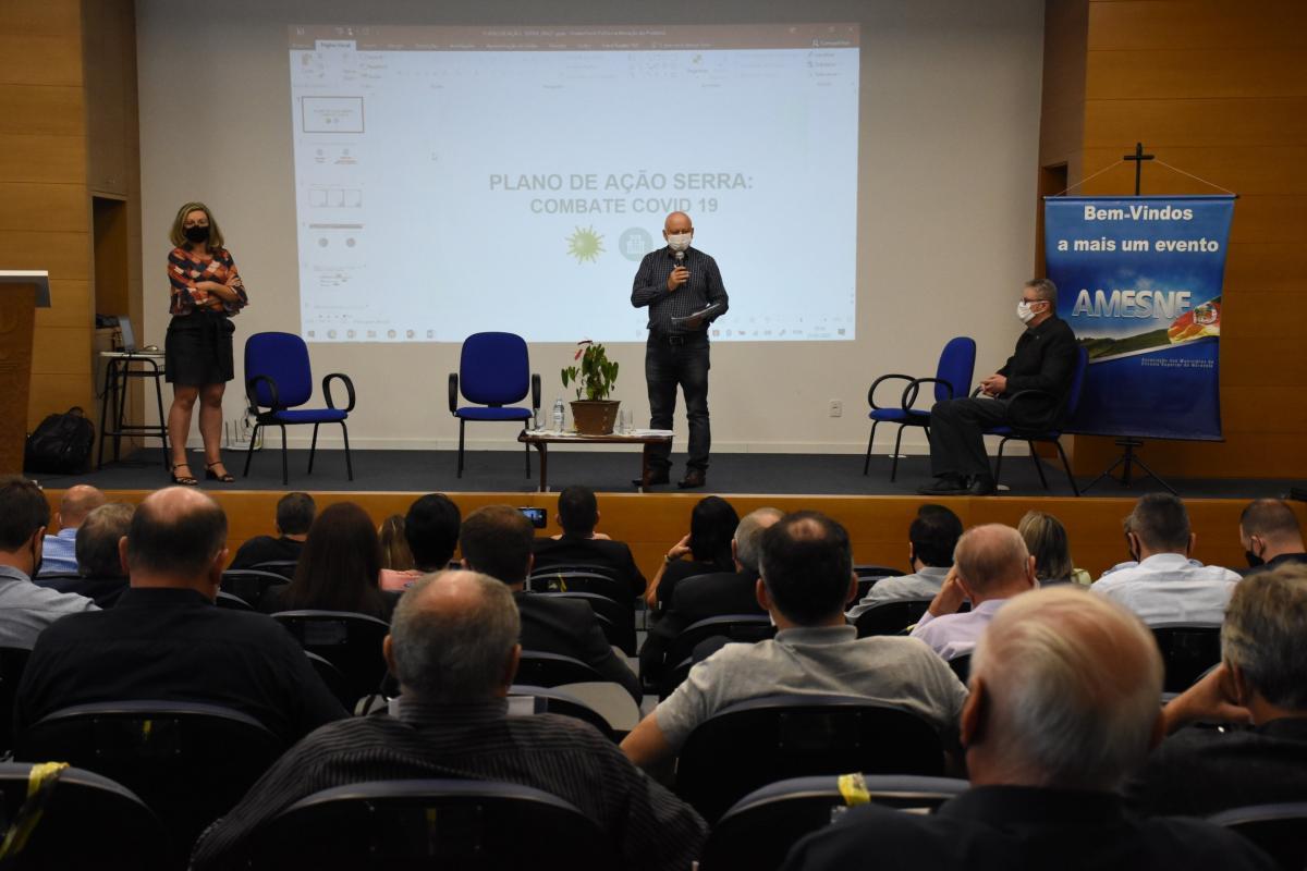 Com mais de 30 prefeitos presentes, AMESNE realiza primeira reunião presencial após o início da pandemia
