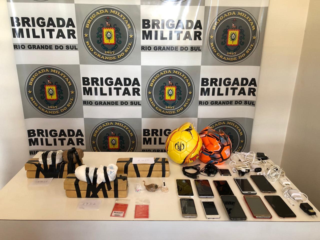 Dois indivíduos são presos e drogas e celulares são apreendidos em Guaporé