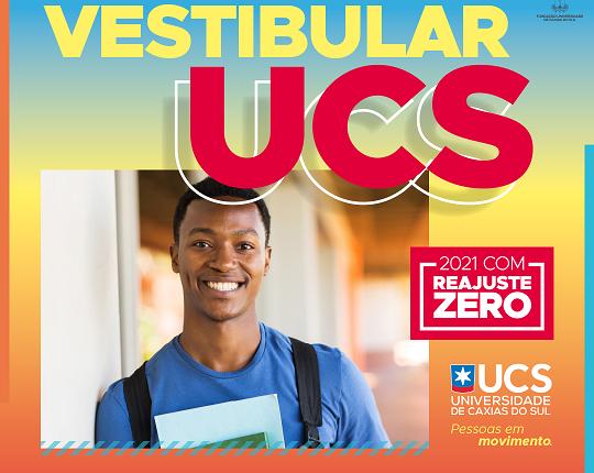 Vestibular UCS: a cada semana, duas novas oportunidades para ingressar na instituição
