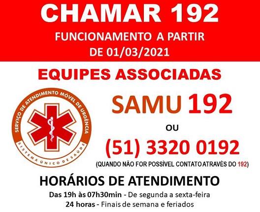 "Monte Belo do Sul: município implementa o ""Chamar 192"""
