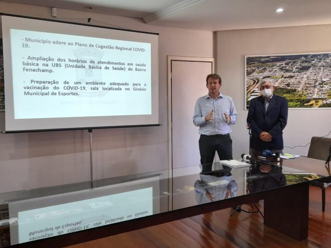 Prefeitura de Garibaldi apresenta balanço do primeiro mês de gestão