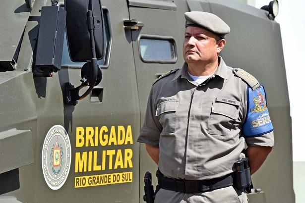 Coronel Brite é o novo comandante da Brigada Militar na Serra