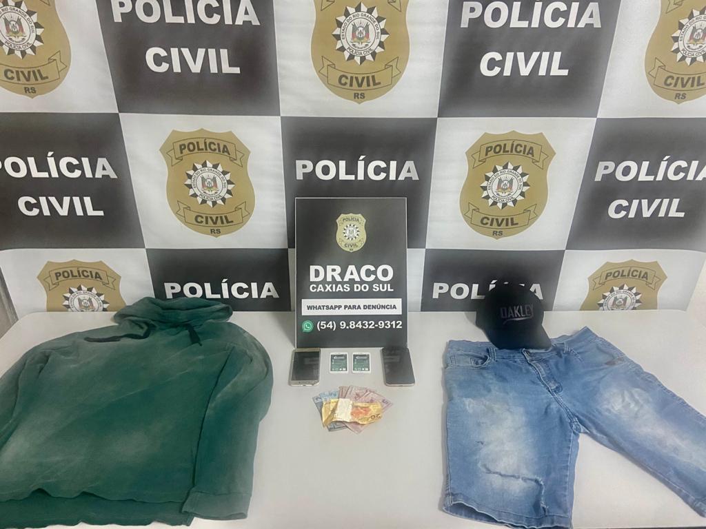 Adolescente suspeito de tentativa de latrocínio é apreendido pela BM em Caxias