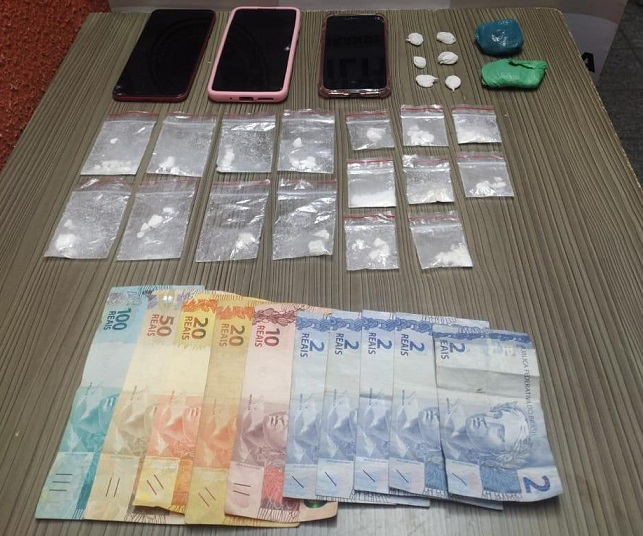 BM de Garibaldi realiza duas prisões por tráfico de drogas