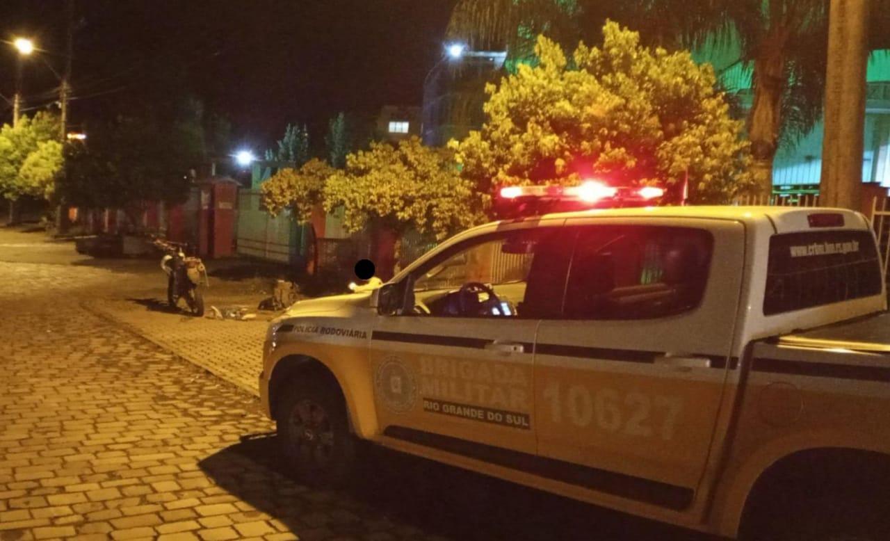 PRE apreende adolescente após perseguição em Caxias do Sul