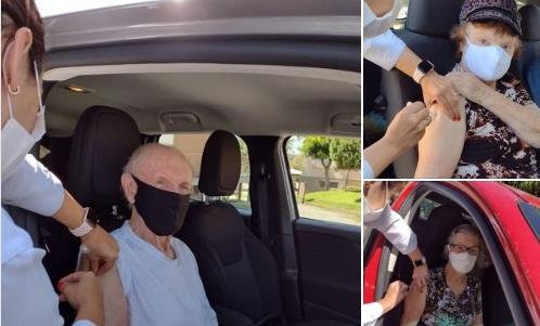 Pinto Bandeira: Vacinação contra Covid-19 para idosos de 76 anos ocorre nesta quarta