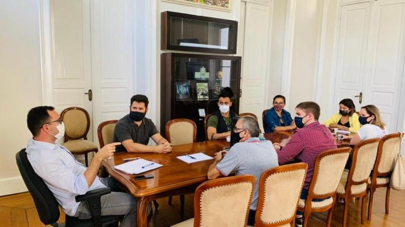 Gabinete de Atenção ao Coronavírus se reúne para debater bandeira preta em Bento