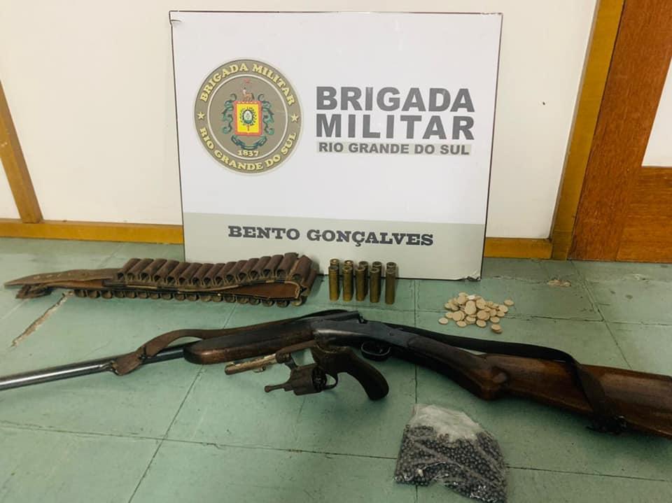 Brigada Militar e Guarda Municipal prendem autor de tentativa de feminicídio em Bento