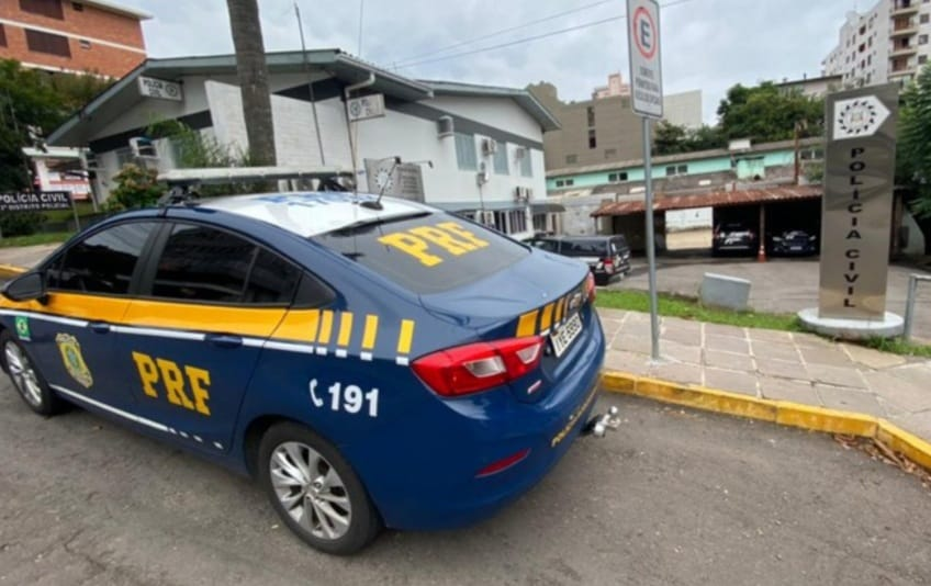 PRF prende criminoso foragido da Justiça em Bento