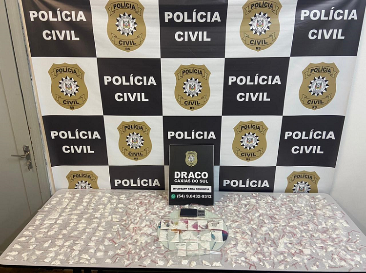 Operação Ouro Branco prende 14 pessoas por tráfico em Caxias e Farroupilha