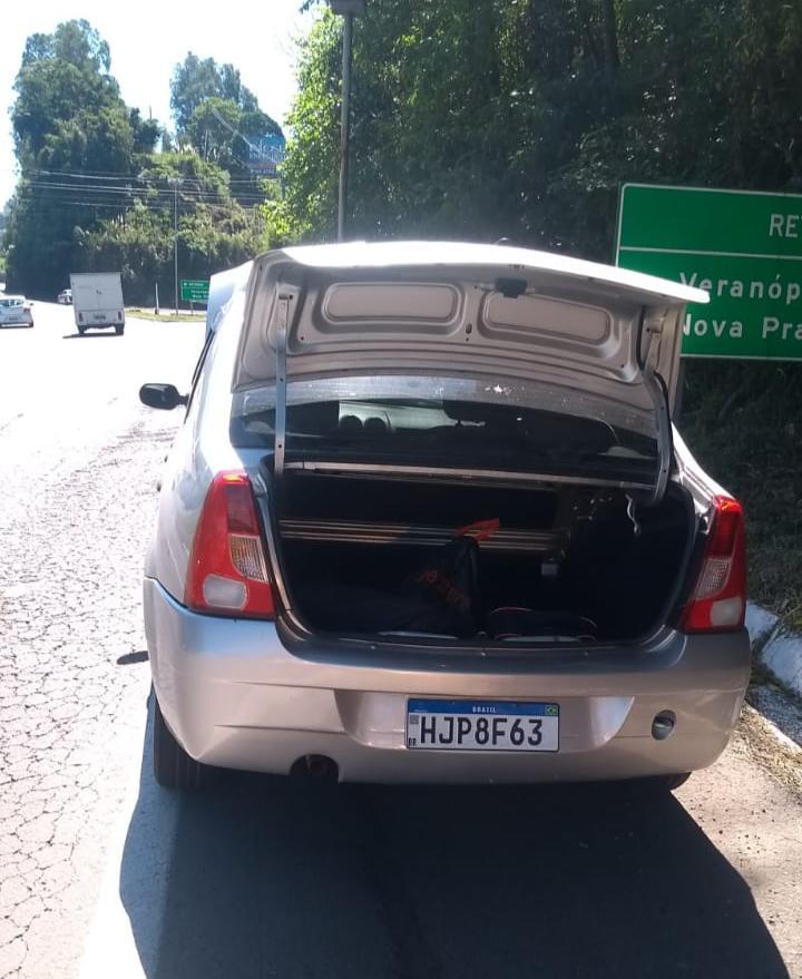Brigada Militar prende homem e recupera veículo furtado em Bento Gonçalves