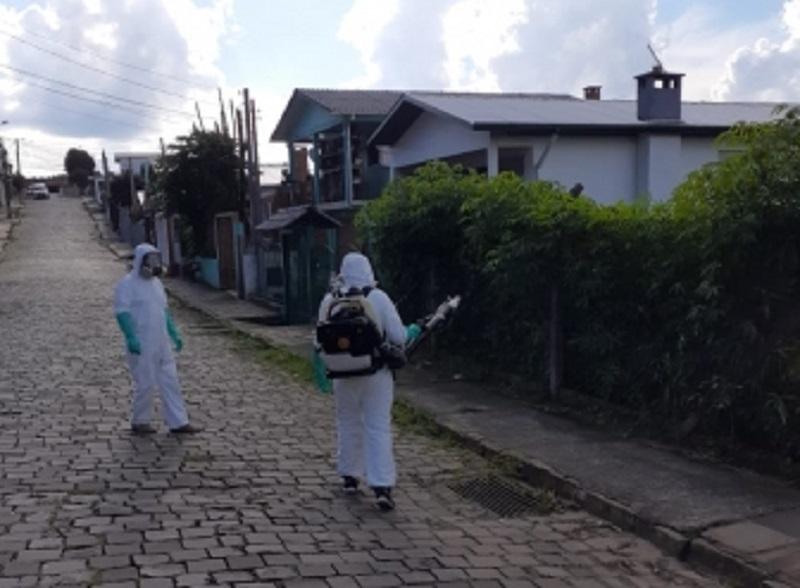 Secretaria realiza trabalho contra proliferação do Aedes Aegypti em Bento