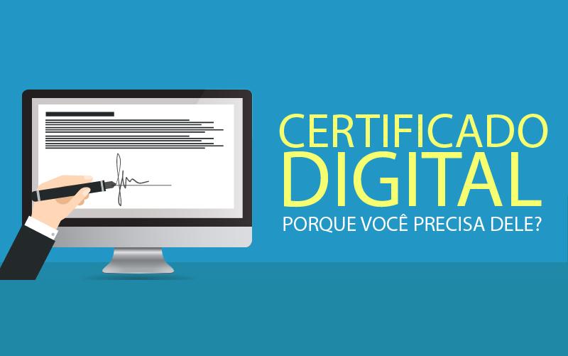 Sindilojas emite Certificado Digital válido até 3 anos