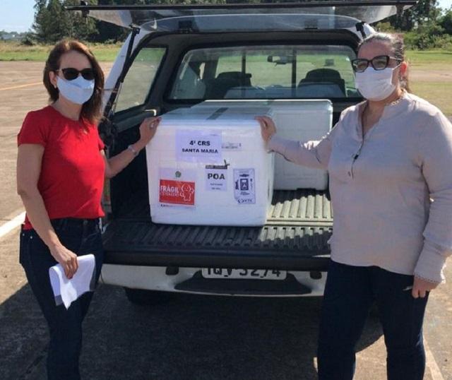 Saúde mobilizada no feriado de Páscoa para entregar vacinas a municípios