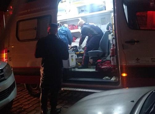 Três indivíduos são baleados no Tancredo Neves, em Bento