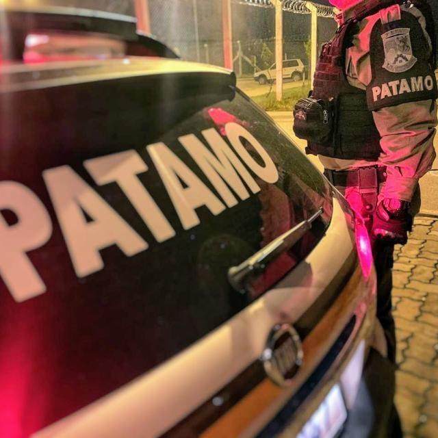 PATAMO recaptura foragido da justiça no Municipal em Bento