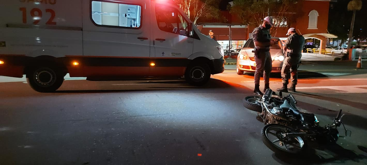 Mais um motociclista fica ferido em acidente de trânsito em Bento