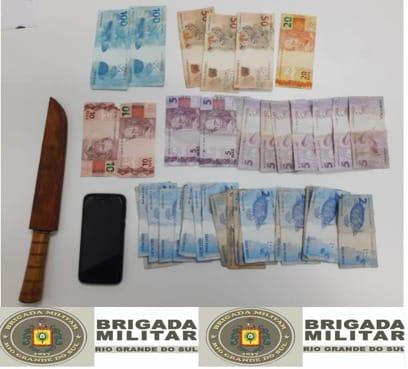 Brigada Militar prende homem por roubo em Nova Bassano