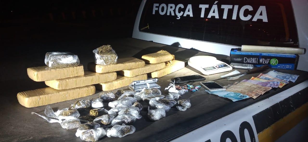 Brigada Militar prende traficante com quase seis quilos de  maconha em Gramado