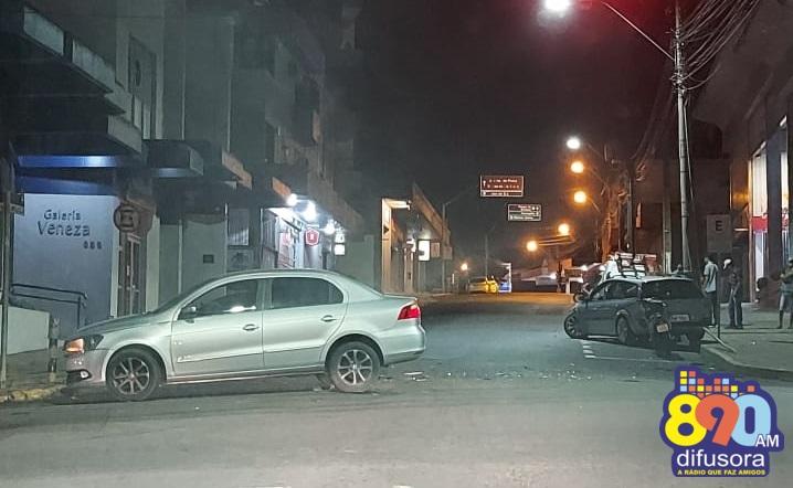 Acidente deixa um ferido na área central de Bento Gonçalves