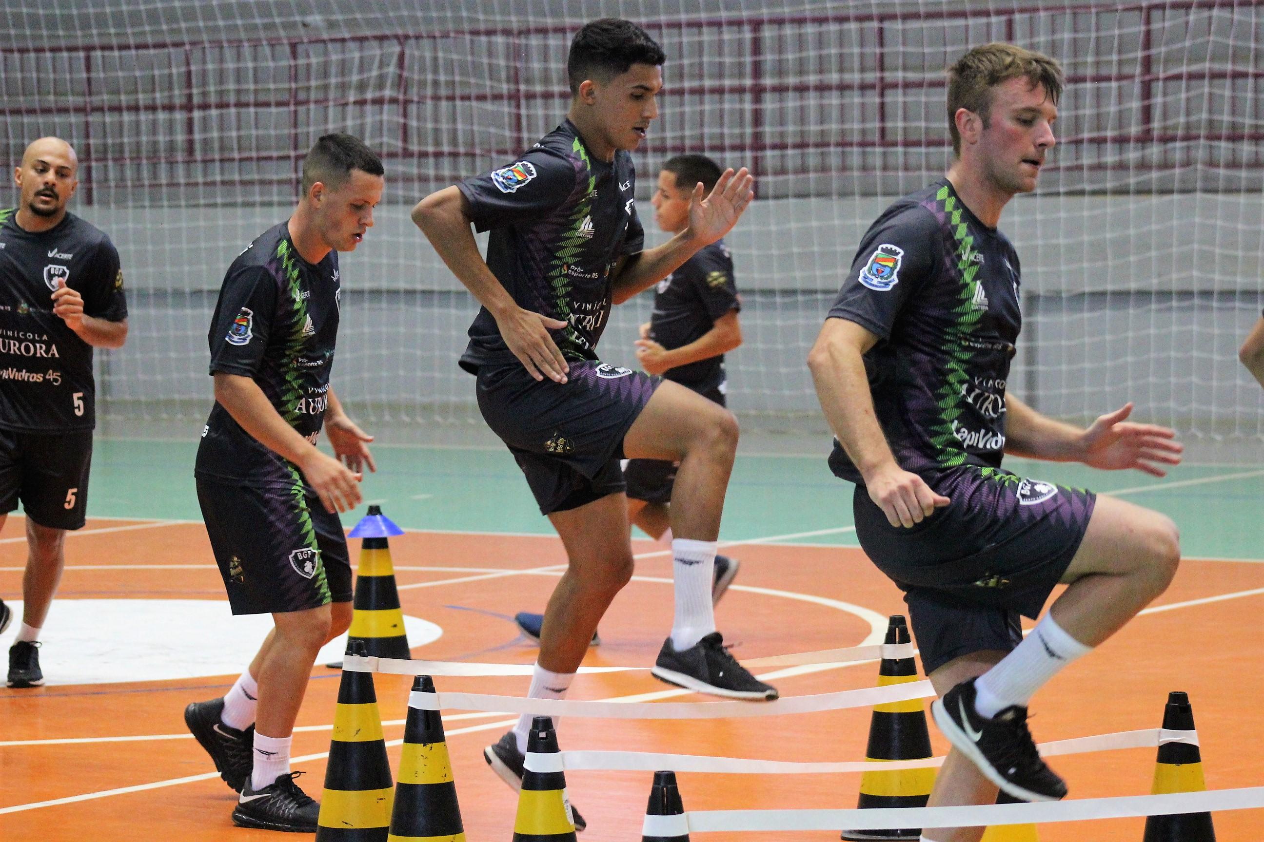 BGF inicia a pré-temporada com trabalhos voltados à preparação física