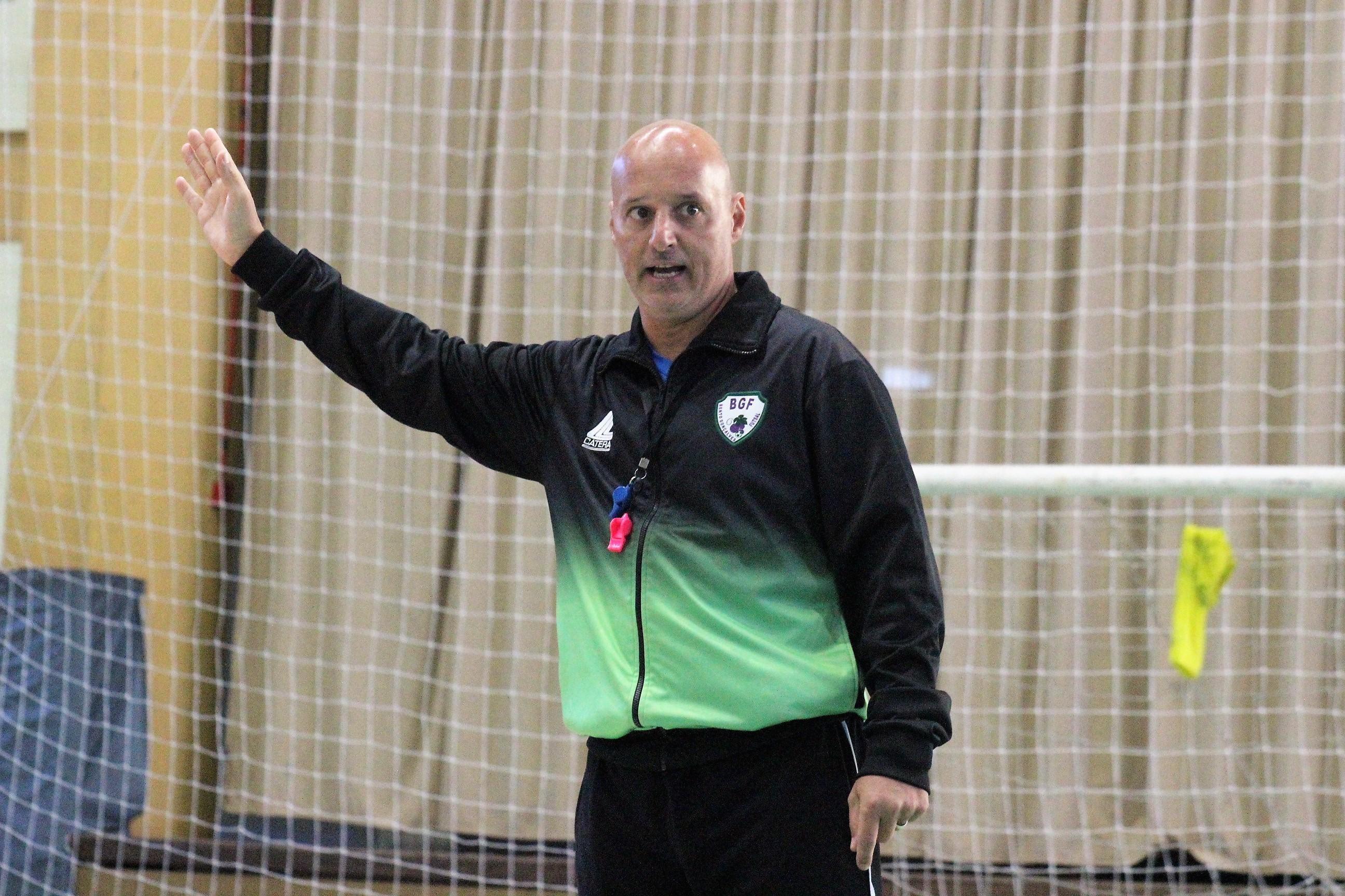 """""""BGF segue na FGFS, pois o clube pensa em disputar competições nacionais"""" diz técnico"""